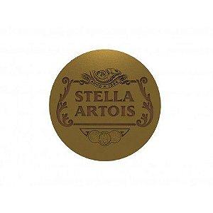 Kit 5 Porta Copos com Suporte Cerveja Stella Artois
