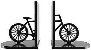 Aparador de Livros Bicicleta Preto