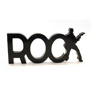 Palavra Decorativa Rock
