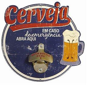 Abridor de Garrafas Parede Cerveja Divertido