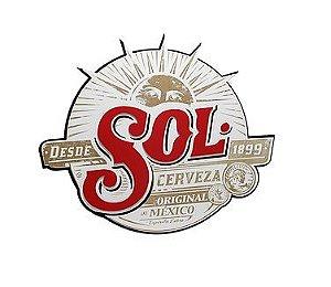 Quadro Cerveja Sol