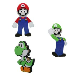 Adorno Boneco Super Mário Bros Personagens 23 x 14cm
