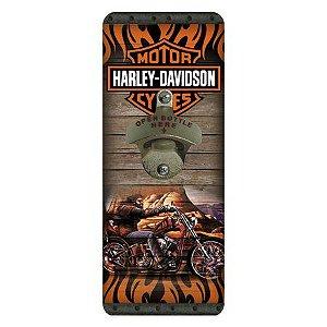 Abridor de Garrafas Harley Davidson Moto