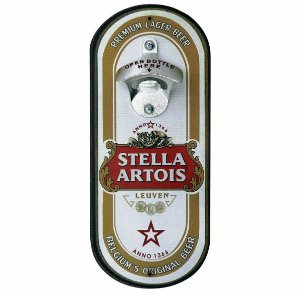 Abridor de Garrafas Cerveja Stella Artois Oval