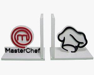 Aparador de Livros Master Chef Branco Mdf Laqueado