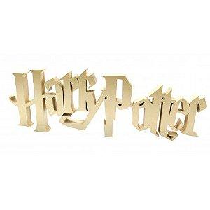 Adorno Harry Potter Laqueado Mdf Dourado