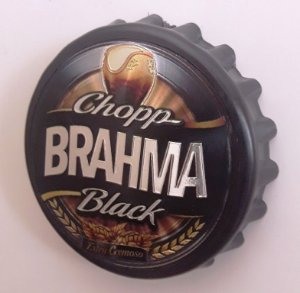 Abridor Garrafa Brahma Black Imã