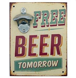 Abridor Parede Free Beer