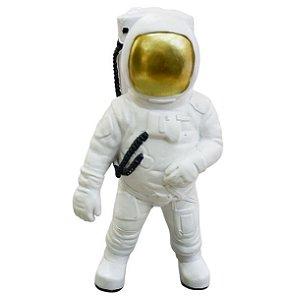 Enfeite Astronauta Galaxy em Resina