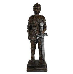 Enfeite Soldado Medieval Resina