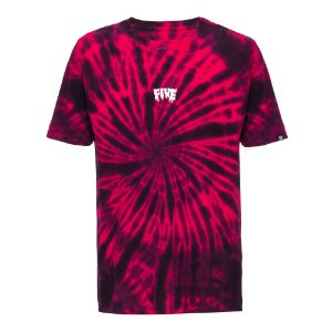 Camiseta Fivebucks Tie Dye Melted Spiral