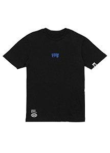 Camiseta Melted Preta - Space Edition