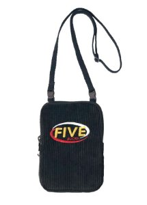 Fivebucks Bag Trip Cotelê Black