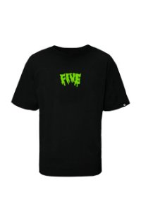 Tee Fivebucks Melted Black Lemon