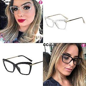 Óculos Quadrato Tendência Fashion Model
