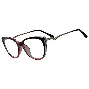 Armação Óculos Grau Feminino KALLBLACK AF5888C2