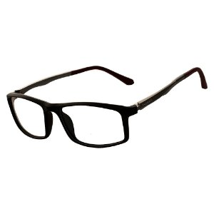 Oculos Armação de Grau Masculino Original Kallblack AM9218 Vermelho