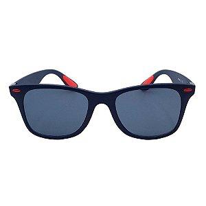 Óculos de Sol Masculino Kallblack SM1460C5 Azul/Vermelho