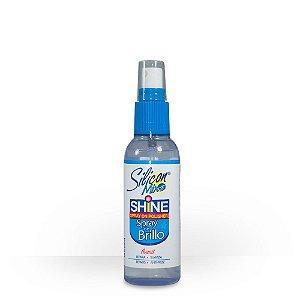 Spray de brilho cabelos secos