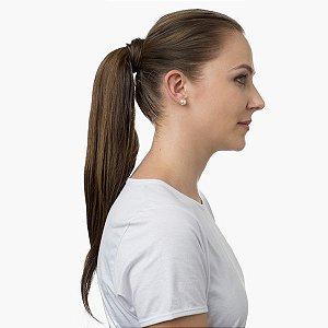 Aplique de cabelo Rabo de Cavalo Hairdo 46cm Avelã