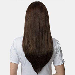 Aplique Liso Longo Hairdo 63cm Chocolate
