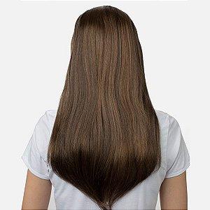 Aplique Liso Longo Tic Tac  Hairdo 63cm Avelã