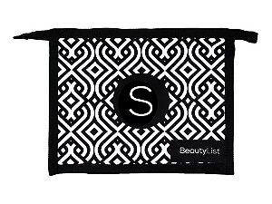 Nécessaire Personalizada BeautyList Letra S