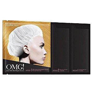 Kit Cabelo 3 em 1 Repair Hair Repair System Mask OMG! Double Dare