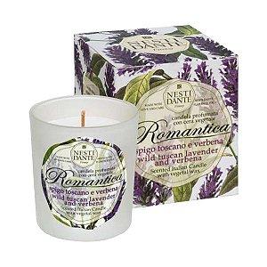 Vela Perfumada Romantica Lavanda e Verbena Nesti Dante 160g