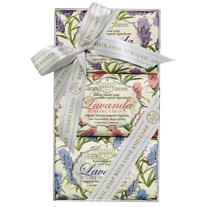 Kit Gift de Sabonetes Lavanda Fine Soap Nesti Dante 3x150g