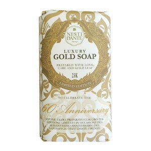 Sabonete Luxury Gold Soap 24k Nesti Dante 250g