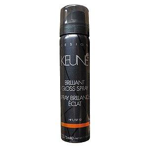 Spray de Brilho Brilliant Gloss Spray Keune 75ml