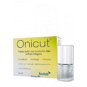 Onicut Gel Fortalecedor de Unhas  Biolab 5 ml