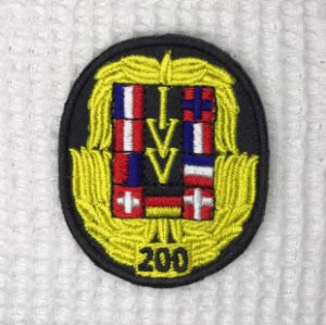 Bordado Comemorativo de 200 Participações - Anda Brasil / IVV