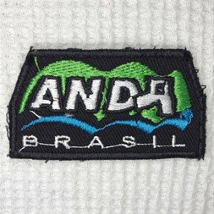 Bordado  Anda Brasil