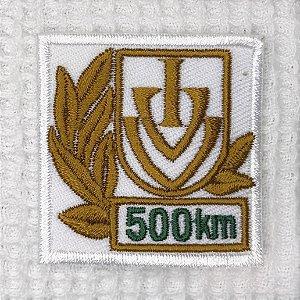Bordado Comemorativo de 500 KMS - Anda Brasil / IVV