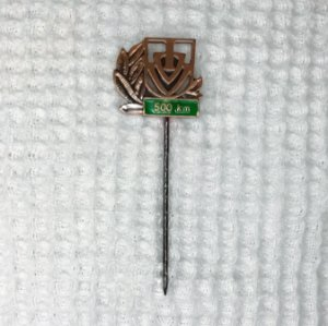 Broche (Pin) Comemorativo de 500 Kms percorridos - Anda Brasil / IVV