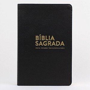 BÍBLIA NVT LUXO LN - PRETO