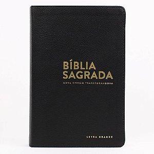 BÍBLIA NVT LUXO LG - PRETA