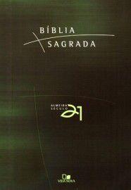 Bíblia Almeida 21 brochura - Verde c/ referências cruzadas / Vida Nova