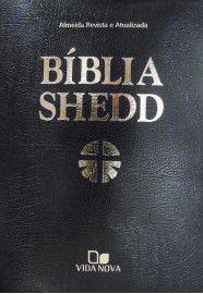 Bíblia Shedd - Luxo - Covertex preta / Russel Shedd