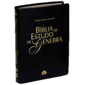 Bíblia de Estudo de Genebra - Preto Nobre