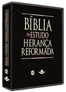 Bíblia de Estudo Herança Reformada - Preta