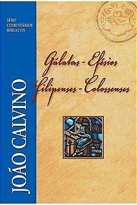 Comentário Bíblico: Gálatas, Efésios, Filipenses e Colossenses / João Calvino
