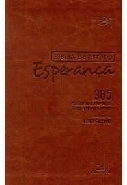 Bíblia de Estudo Esperança - Couro Simulado / Luiz Sayão - Editor