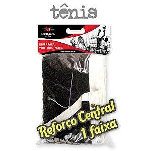 Rede de Tênis Campo Quadra REFORÇO CENTRAL Lona em COURO - 1 Faixa (un)