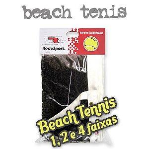 Rede de Beach Tennis ou Tênis de Praia Oficial