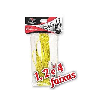 Rede para Quadra Vôlei Lazer Amarela - 9,50m (1, 2 e 4 Faixas)