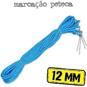 Marcação para Quadra de PETECA em Corda AZUL 12mm - (15x7.5mts)