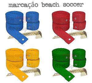 Fita de Marcação Oficial para Quadra de Beach Soccer - (28x37mts)